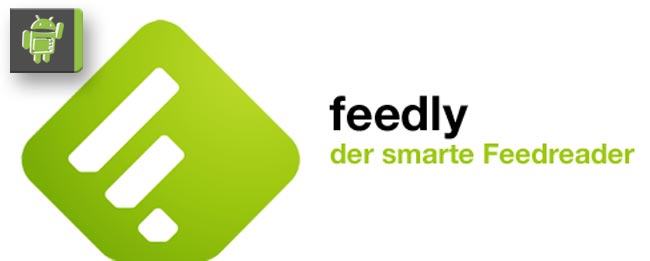 feedly News Reader mit Google+ Login
