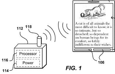Amazon-Patent für Touch-Display ohne Akku und Prozessor