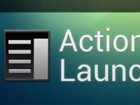 Action Launcher: Widgets per Geste aufrufen