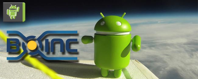 Android in Sapce mit BOINC