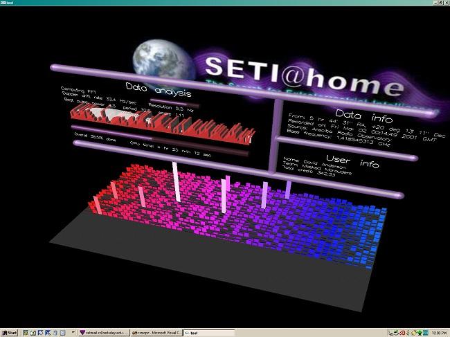 BOINC mit Seti@Home