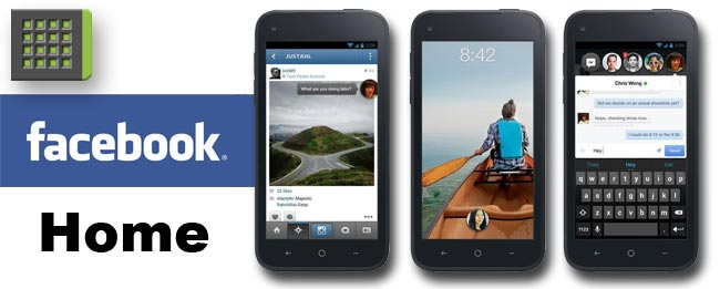 HTC First und Facebook Home