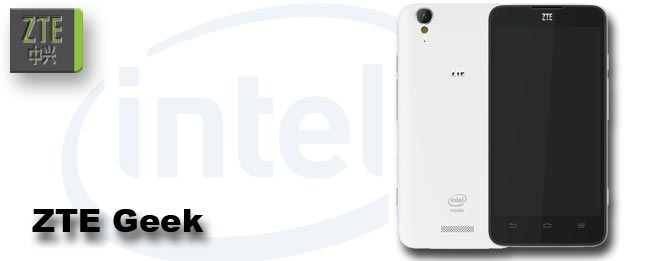 ZTE Geek mit Intel Atom Z2580 Dualcore