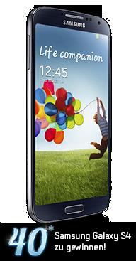 Galaxy S4 Gewinnspiel
