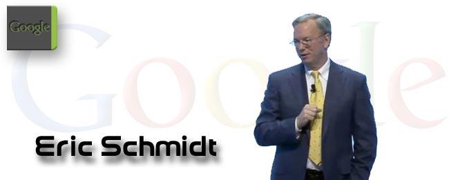 Android ist sicherer als das iPhone, meint Eric Schmidt
