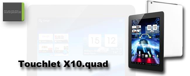 Pearl Touchlet X10.quad
