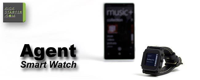 AGENT Smart Watch bei Kickstarter