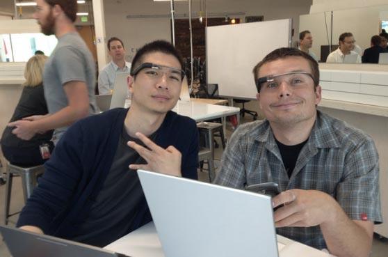Luke Wroblewski (rechts)