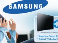 Smart TV kaufen und ein Galaxy S4 gratis