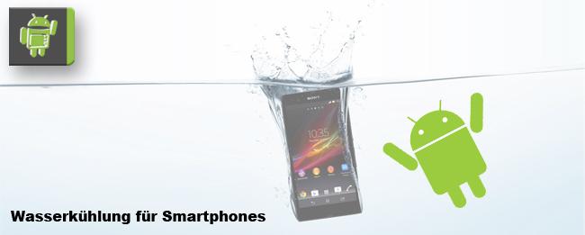 Wasserkühlung für Smartphones