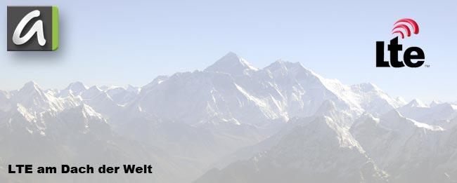"""LTE: Highspeed-Surfen auf dem """"Dach der Welt"""""""