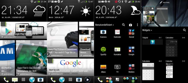 HTC One Sense 5 Launcher