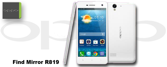 Oppo R819 Find Mirror: Neues Smartphone für die Mittelklasse