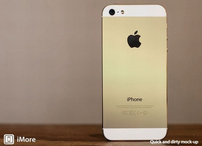Goldene iPhone
