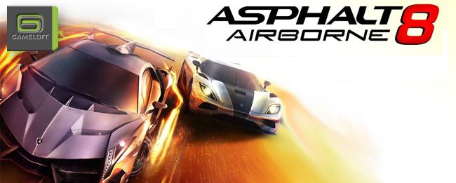 Asphalt 8 Airborne für 89 Cent im Play Store gelandet