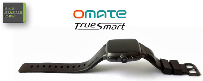 Omate TrueSmart: So wird Text eingegeben