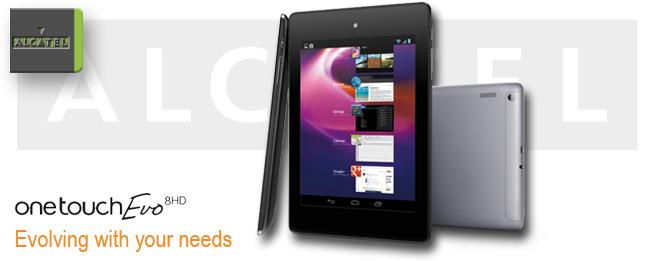 One Touch Evo 8 HD von Alcatel: Das Zubehör ist die Würze