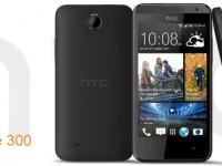 Und noch eines: HTC Desire 300 ebenfalls vorgestellt