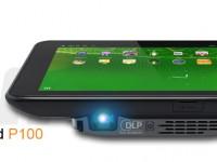 Projector Pad P100 von Aiptek: Der Beamer im Tablet