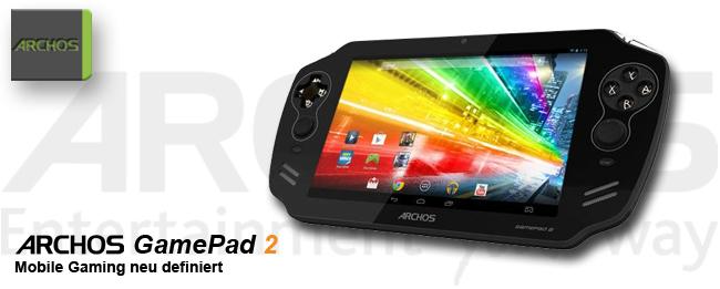 Archos GamePad 2: Ordentlicher Temposchub dank Quadcore