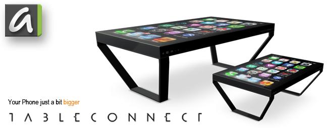 TableConnect bringt Smartphones groß raus
