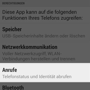 App-Berechtigungen