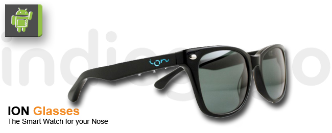ION Glasses will Google Glass Konkurrenz machen