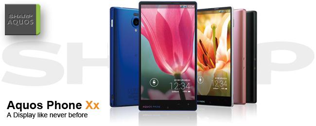 Sharp Aquos Phone Xx: Mehr Display geht fast nicht
