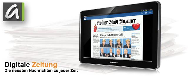 Google: Tablets könnten profitabel für Zeitungen werden