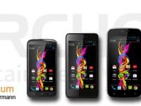 Archos: 4 neue Smartphones der Titanium-Familie
