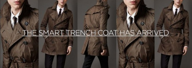 Motiif M Smart Trench Coat