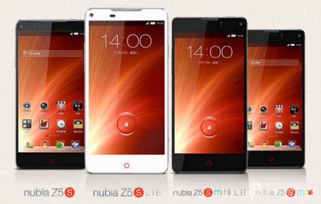 ZTE Nubia Z5S und Nubia Z5S mini