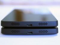 Veränderte Lautsprecher des Google Nexus 5