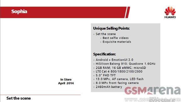 Huawei Ascend P7 Leak