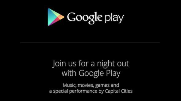 Google Play Einladung 24. Oktober