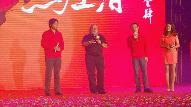 Steve Wozniak zu Gast beim Neujahrsfest von Xiaomi