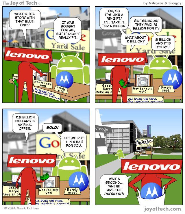 Lenovo Comicstrip