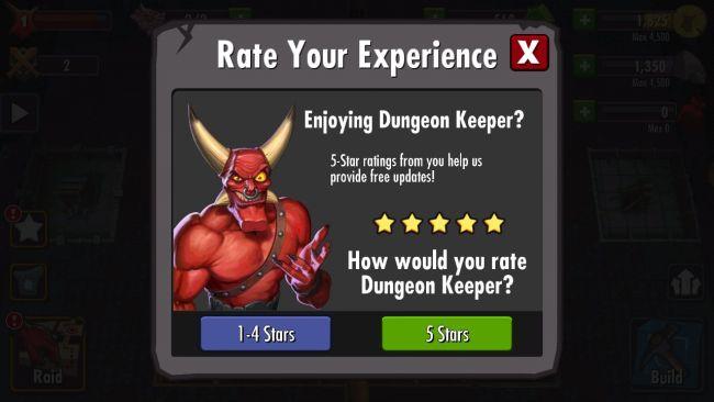 Dungeon Keeper Mogelpackung