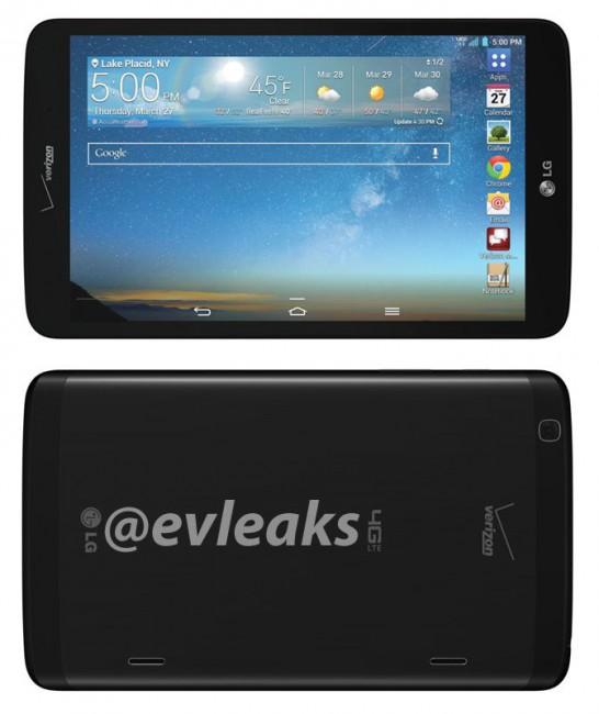 LG G Pad 8.3 LTE für Verizon Wireless
