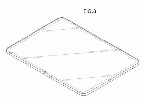 Samsung flexibles Tablet Patent