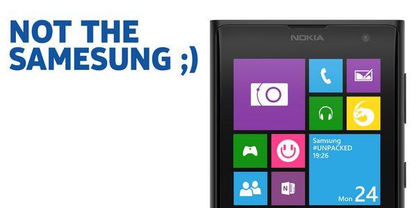 Nokia zum Galaxy S5
