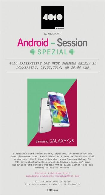 Samsung Galaxy S5 zu gewinnen