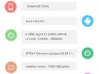 NVIDIA Tegra K1 64 Bit Dual-Core Benchmark