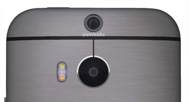 HTC One 2 Dual-Sensor Kamera