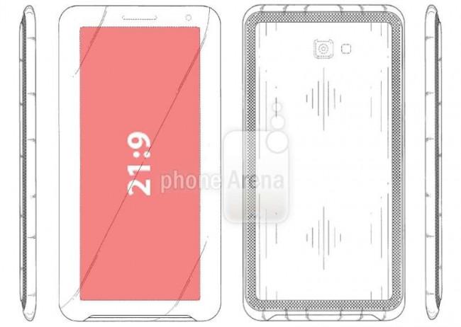 Samsung-Patent für Kino-Smartphone