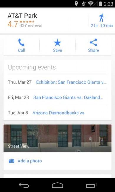 """Google Maps """"Anstehende Veranstaltungen"""""""