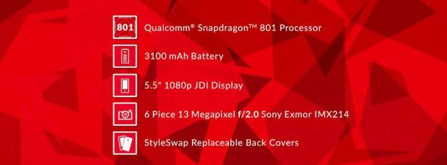 OnePlus One mit Snapdragon 801
