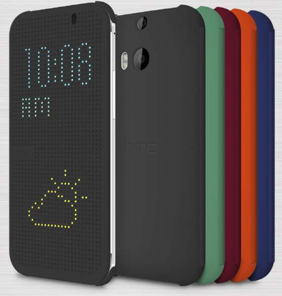 HTC One 2 (M8) Dot View Cover