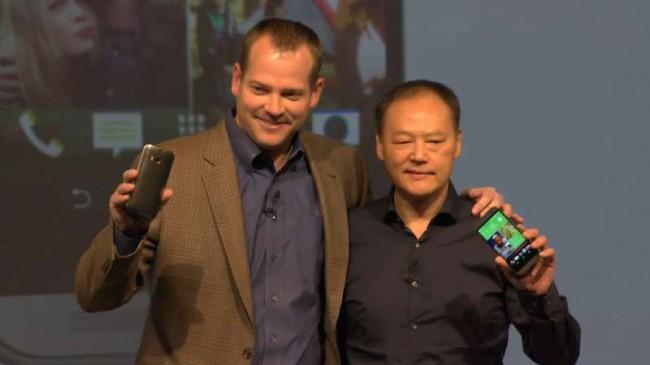HTC One 2 (M8) Peter Chpou und Jason Mackenzie