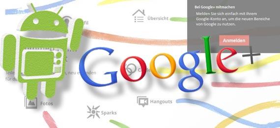 Google+ mobile mit umfangreichem update!